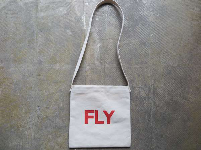 SCALE BAG-FLY_CANVAS  NAT-RED