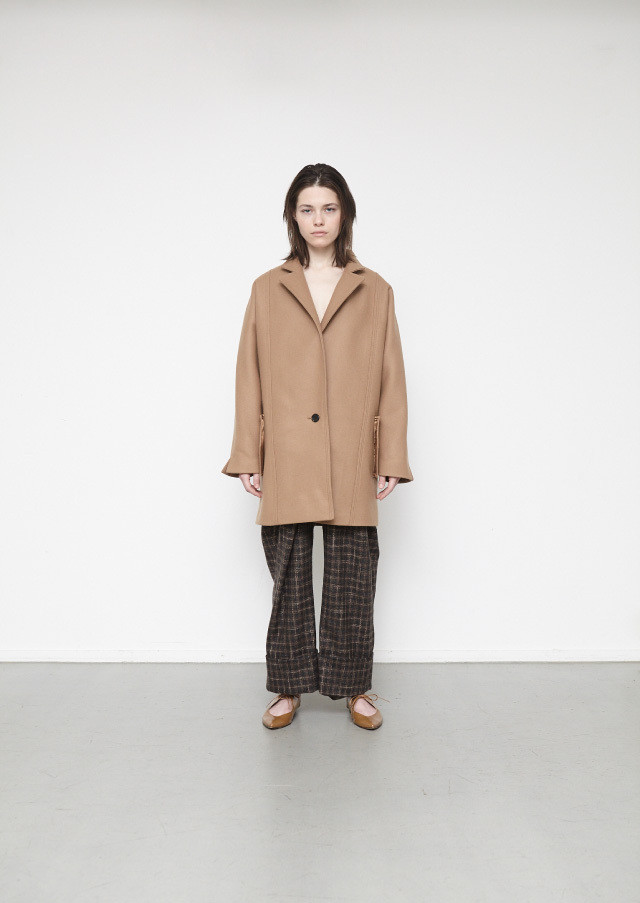 Melton single 1B coat