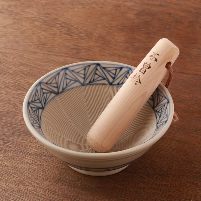 お茶碗ぐらいのすり鉢30選!すり鉢4.5号とすりこぎ №20
