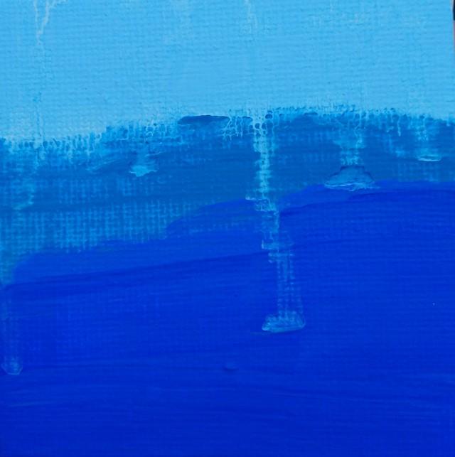 絵画 絵 ピクチャー 縁起画 モダン シェアハウス アートパネル アート art 14cm×14cm 一人暮らし 送料無料 インテリア 雑貨 壁掛け 置物 おしゃれ ロココロ 夏 祭り 抽象画 画家 : ごま 作品 : なつまつり