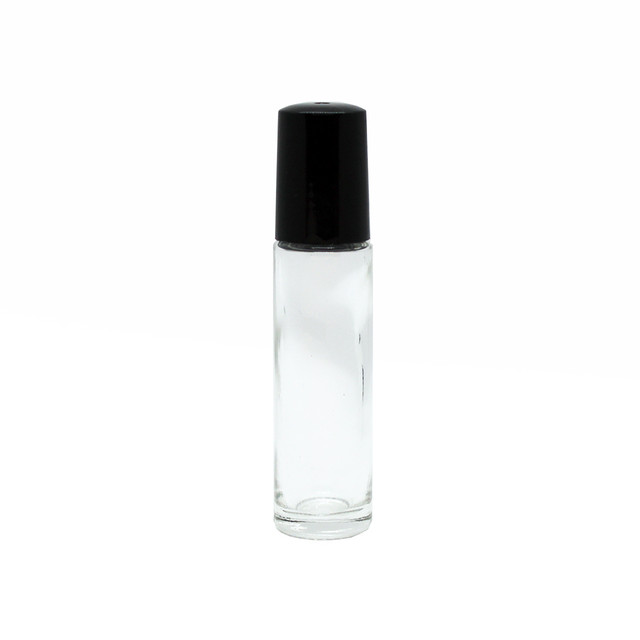 Clear Glass Roll-On Bottle 10mL