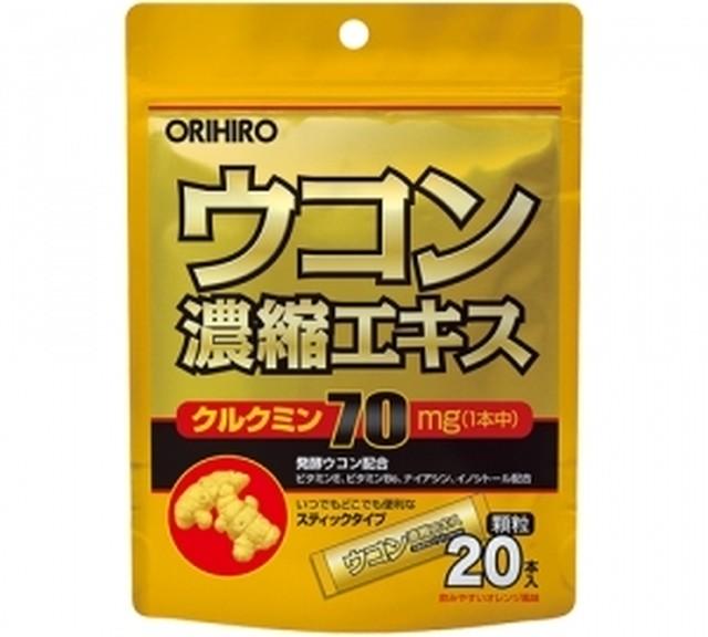 ORIHIRO ウコン濃縮エキス顆粒 1.5g×20本