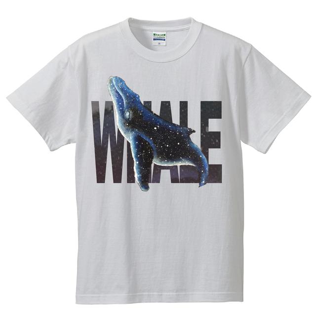 WHALE(クジラ)親子リンクコーデTシャツ タイプD[Wearable Art]