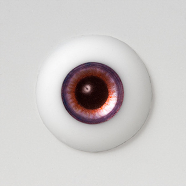 Silicone eye - 19mm Metalized Purplish Mauve Eclipse PW
