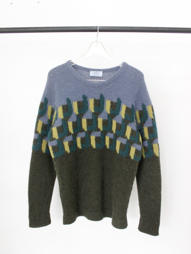 Used PRADA Alpaca knit