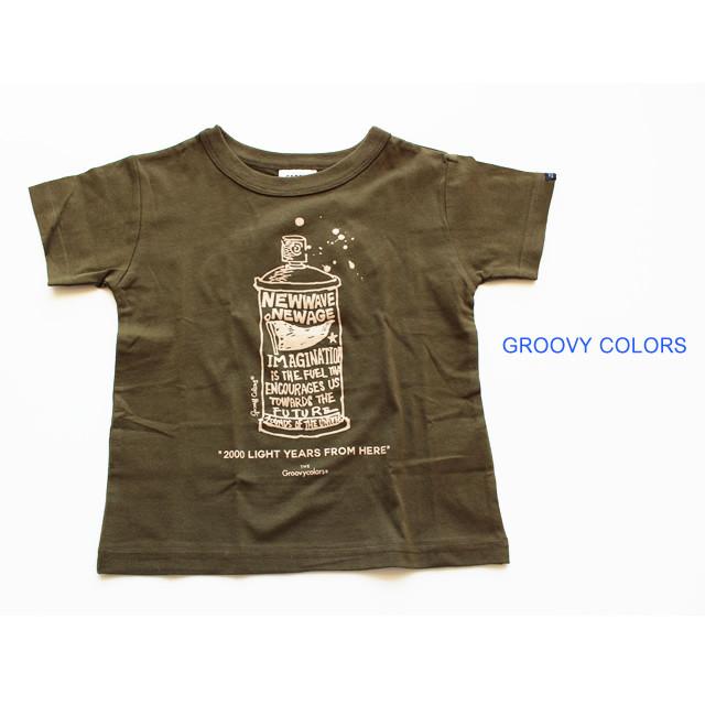 【GROOVY COLORS グルーヴィーカラーズ】1612436 テンジク SPRAY PAINT BASIC TEE 150-160㎝