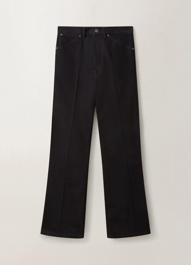 LEMAIRE BOOTCUT PANTS Black M 203 PA150 LD046