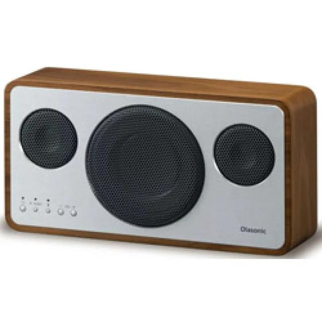オラソニック IA-BT7-WN ハイレゾ対応 高音質Bluetooth対応スピーカー ウォルナット