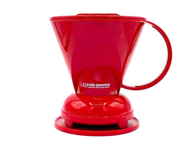 *RED Clever Coffee Dripper (L size) / 赤色 クレバー コーヒードリッパー(Lサイズ)