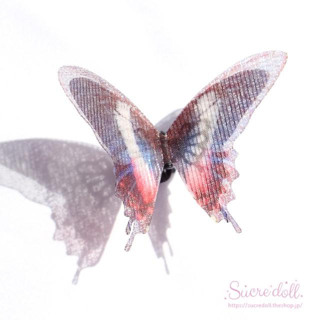 [浮世] 胡蝶の夢 ヘアクリップ