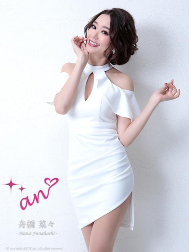『an』ドレスです