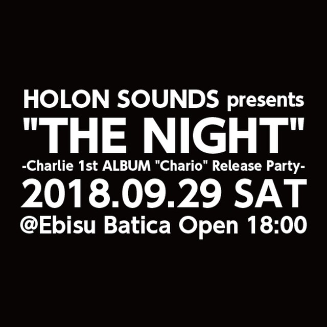 "【TICKET RESERVE】""THE NIGHT"" @Batica / Ticket"