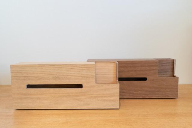 Wooden Tissue Case