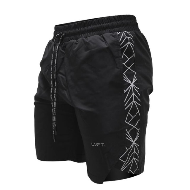 LIVE FIT Hyper Active Shorts - Black