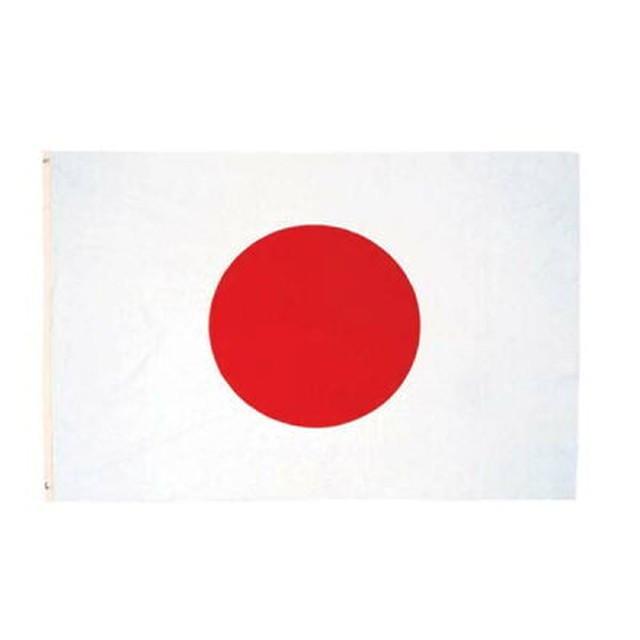 世界の国旗・日本・日章旗