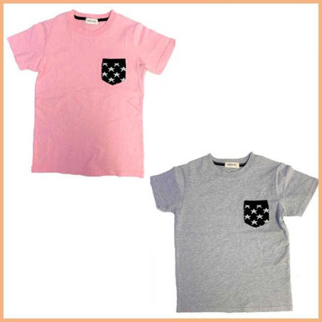 ニットポケットTシャツ23692