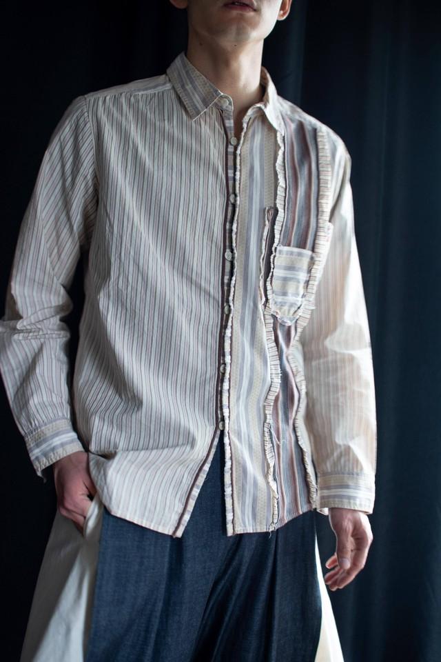 FRANCOIS GIRBAUD flower shirt
