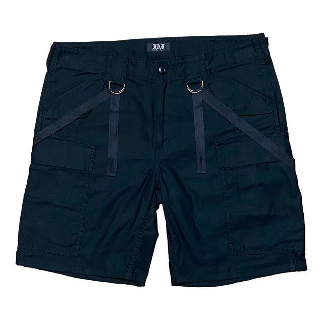 Peace Sign Cargo Shorts - メイン画像
