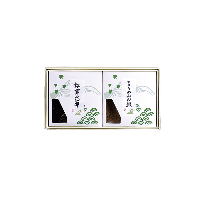 KB-10 松茸佃煮詰合せ(2品) - メイン画像