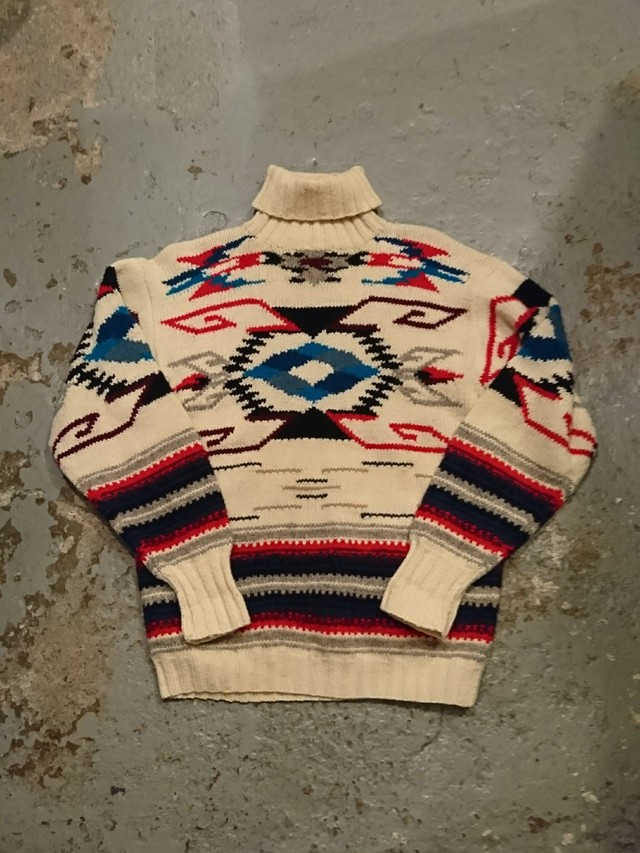"RALPH LAUREN ""NATIVE HAND KNIT"""