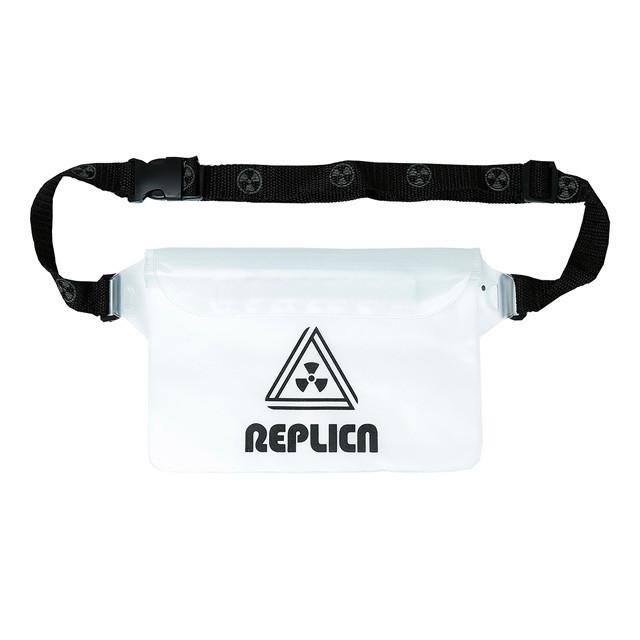 REPLICA / REPLICA PVC Hip Pack  Clear