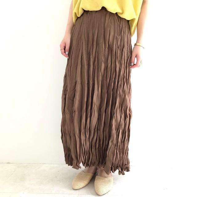 【 ROSIEE 】ワッシャーロングスカート