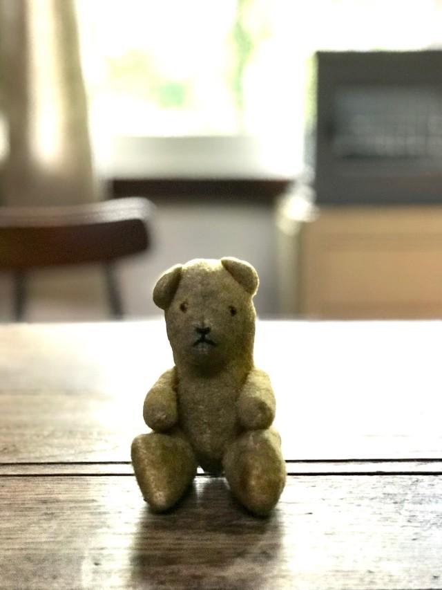フランスアンティーク 小さなテディベア ぬいぐるみ 人形