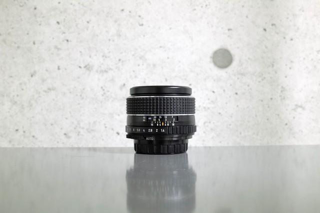 【New】 PENTAX SMC TAKUMAR 50mm F1.4