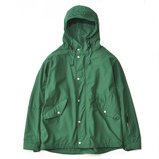 THE NERDYS / CN hooded blouson[GREEN]