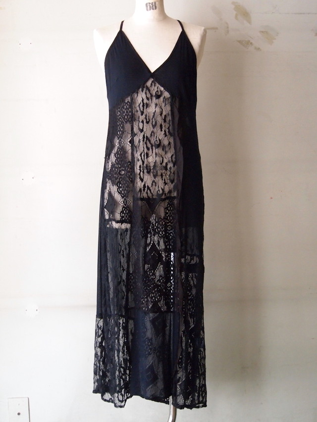 lace camisole dress