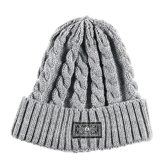 【ROLLING CRADLE | ロリクレ】RC KNIT CAP / Gray