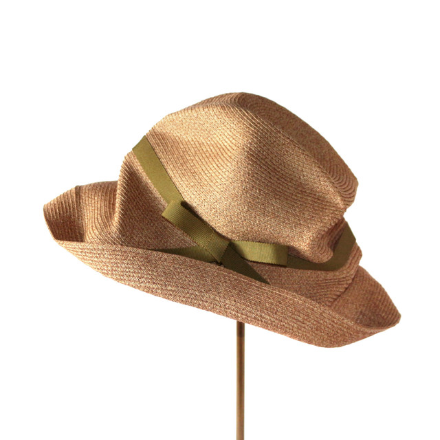 "mature ha. BOXED HAT 101 2020SS アンジェ別注 ""olive"""