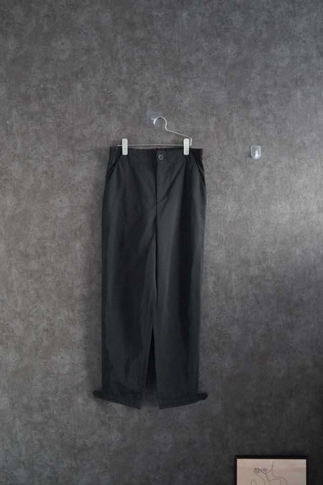 【 winter Special  price】SISSI GOETZE nylon pants Black