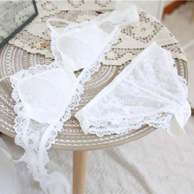 flower lace bralette ZBL200
