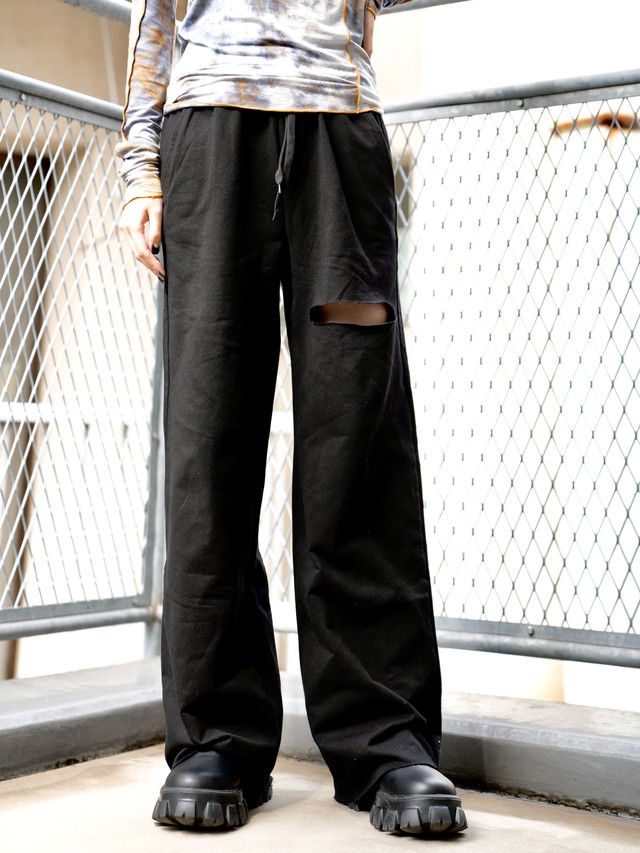 【UNISEX - 1 size】SWEAT OVERFIT PANT / 2colors