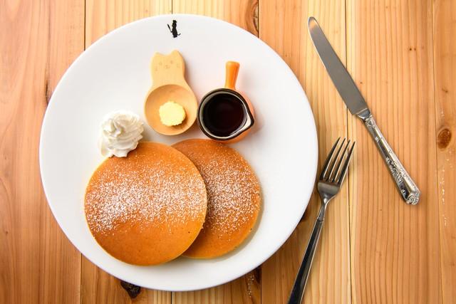 デザート系パンケーキ「しんぷる」※画像はイメージです!