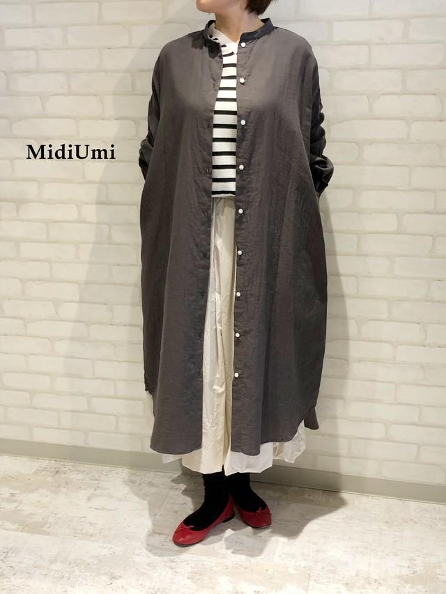 MidiUmi/シャツワンピース/01006