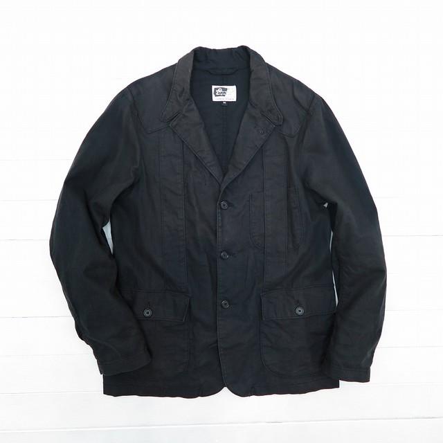 Engineered Garments エンジニアド ガーメンツ リネン×コットン テーラードジャケット ブラック メンズ Mサイズ MADE IN USA