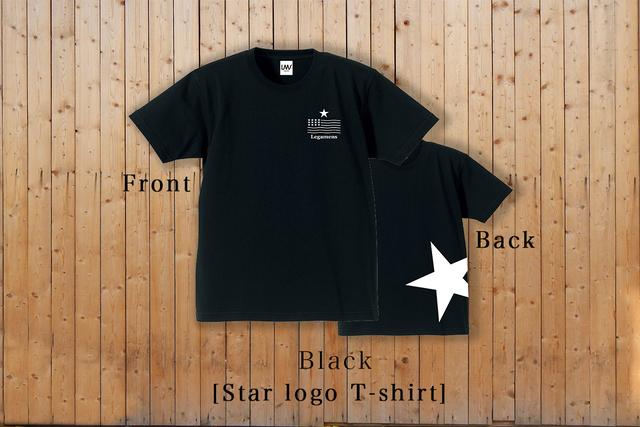STAR logo T-Shirt / black