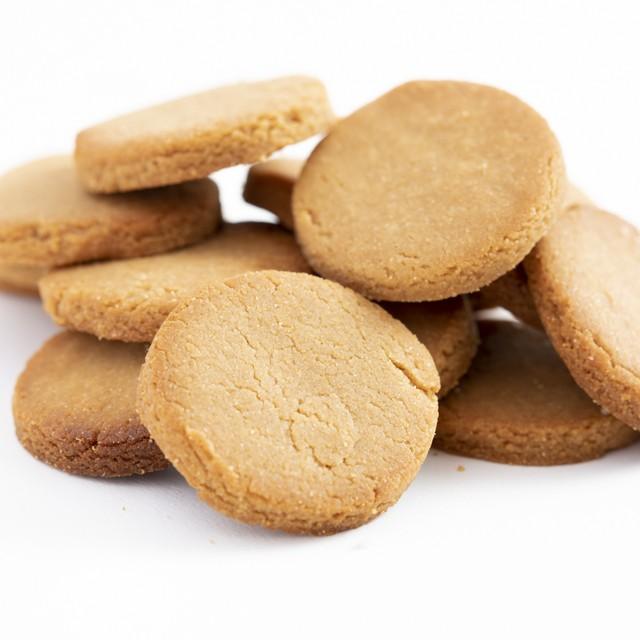 送料230円【グルテンフリー】小麦粉・卵・乳不使用[玄米きな粉クッキー]40枚入