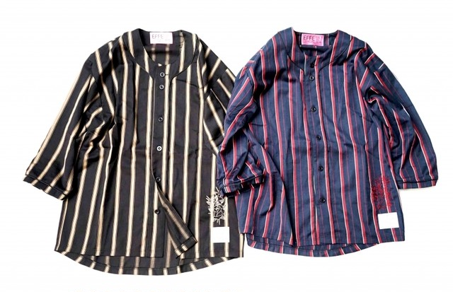EFFECTEN(エフェクテン) SIDE ZIP CHECK SHIRT