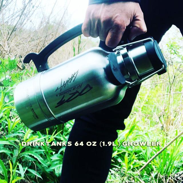 【DRTxLAHMダブルネーム】64oz (1.9L)グラウラー  DrinkTanks/ドリンクタンクス LAHM/エルエーエイチエム