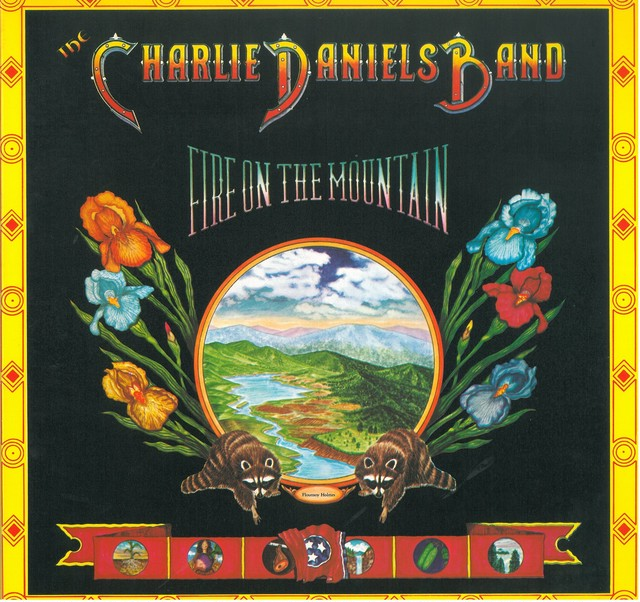 CHARLIE DANIELS BAND / FIRE ON THE MOUNTAIN (LP) USA盤
