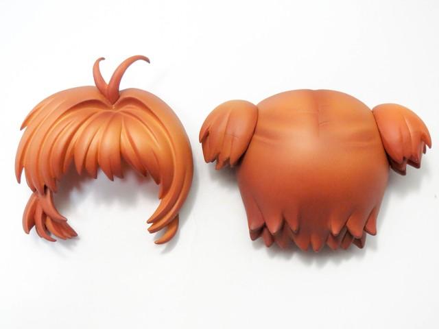 ねんどろいどこ~で 木之本桜 エンジェルクラウンコーデ 髪パーツ ピッグテール ねんどろいど