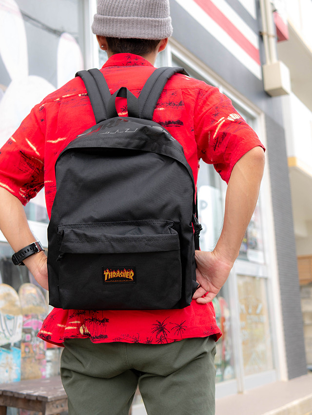 THRASHER LOGO BACKPACK
