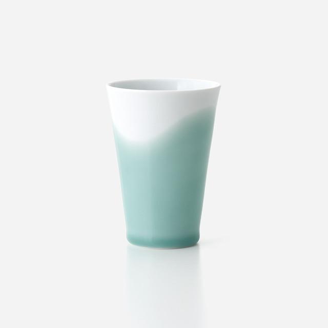 青磁波 フリーカップ(小)