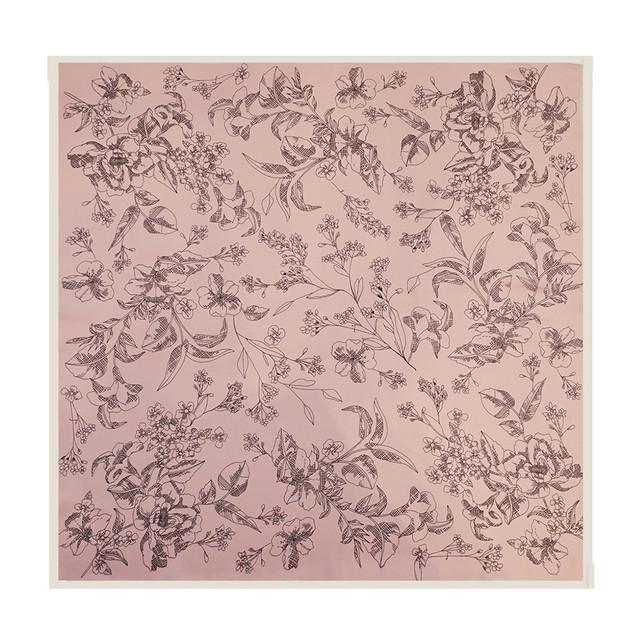 SCURF - SKETCH FLOWER - PALE PINK