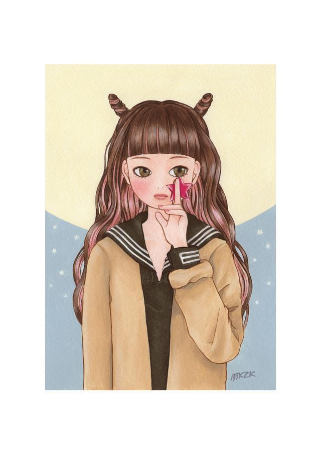 MIKAZUKI / ミカヅキ ミニポスター A4サイズ 「mellow」
