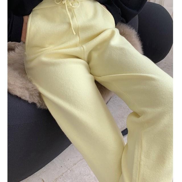 knit pants KRE588