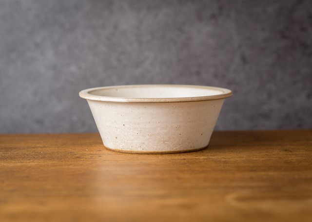 SHIROUMA 鉢 15cm 白(煮物鉢・スープボウル・汁碗)/長谷川 哲也